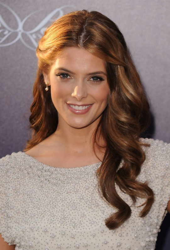 Ashley Greene Long Hairstyles - Soft Wavy Hairstyle for Thick Hair