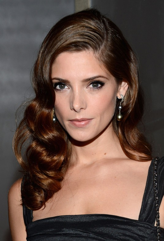 Ashley Greene Retro Hairstyle - Formal Hairstyles for Women