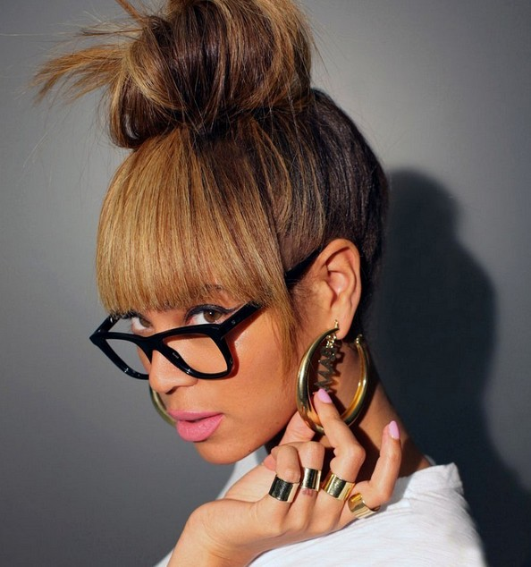 Beyonce Knowles Hair Knot - Sexy Updo for Women