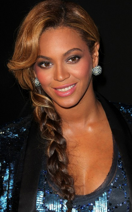 Long Braided Hairstyle for Women - Beyonce Knowles