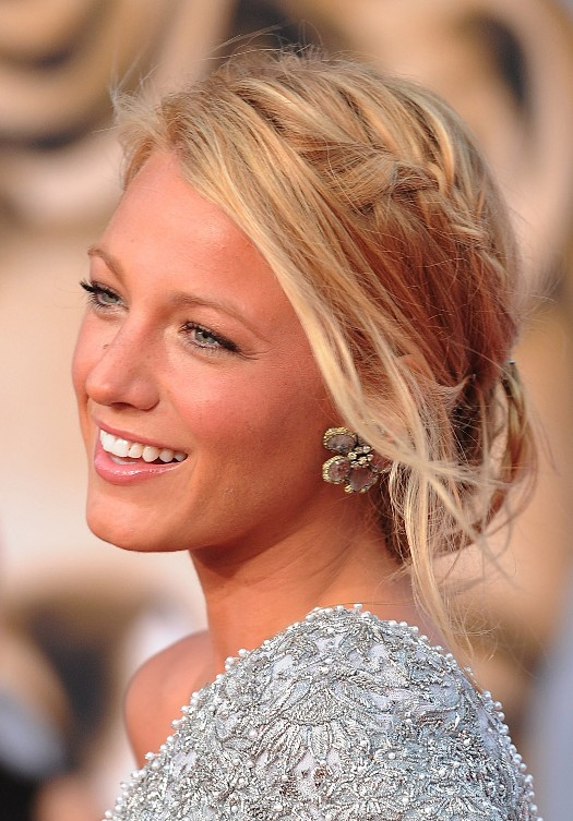Braided Low Chignon Updo for Women