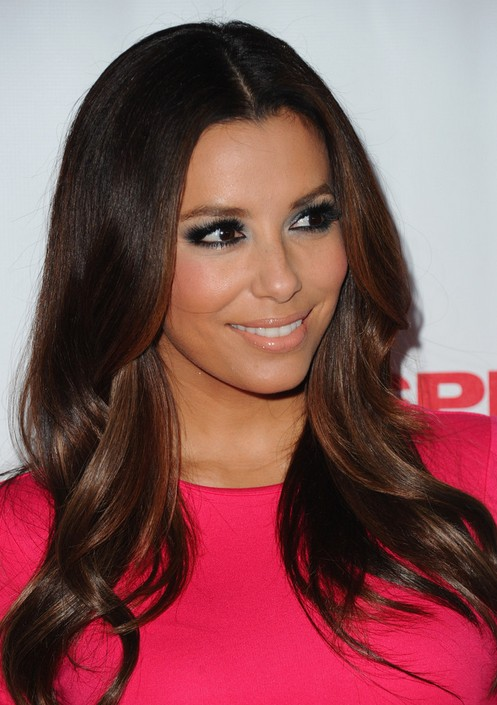 Eva Longoria Hair Color 2014