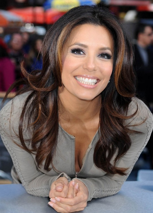 Eva Longoria Haircuts Color Highlights