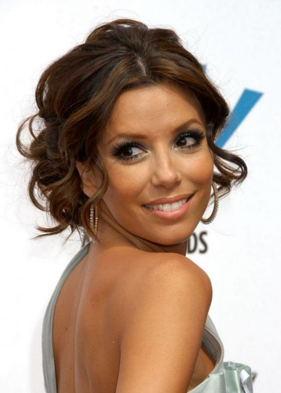 Eva Longoria Hairstyles for Prom