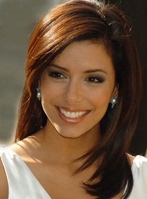 Eva Longoria Layered Hairstyles