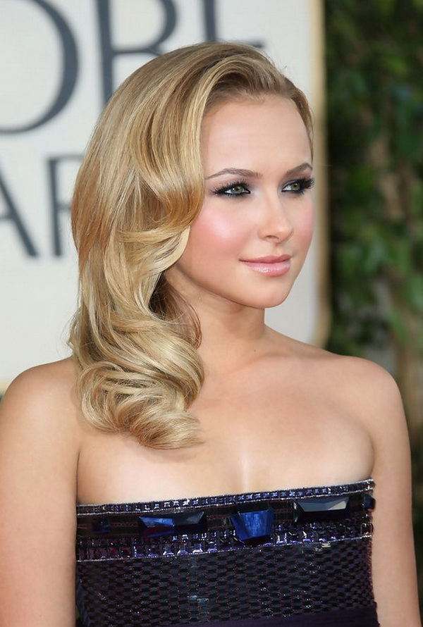 Hayden Panettiere Medium Retro for Prom