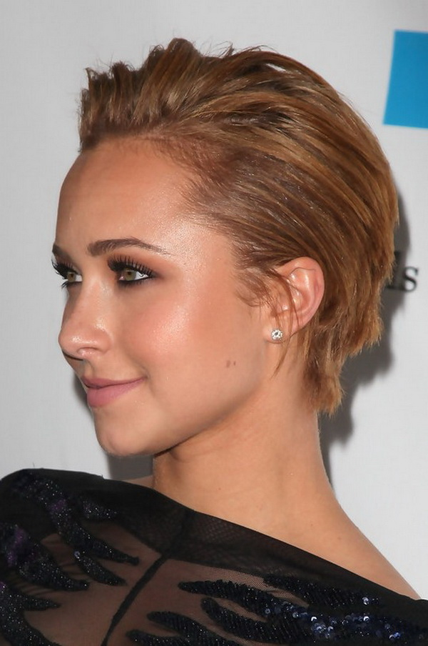Hayden Panettiere Short Hairstyle