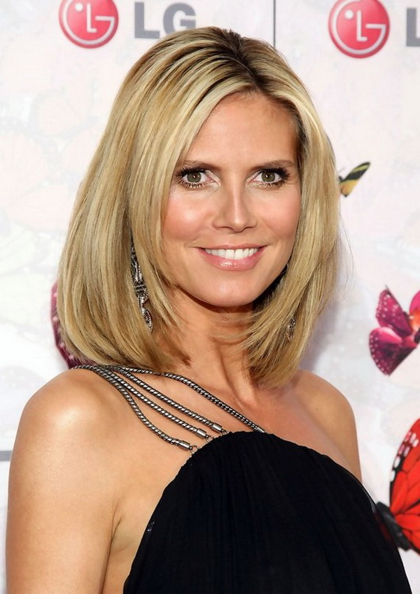 heidi klum hairstyles celebrity latest hairstyles 2016. Black Bedroom Furniture Sets. Home Design Ideas