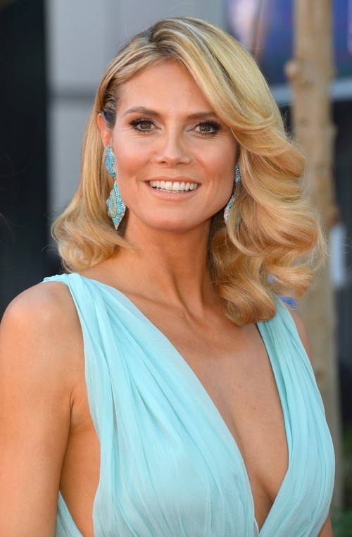 Heidi Klum Hairstyle for Women Over 30