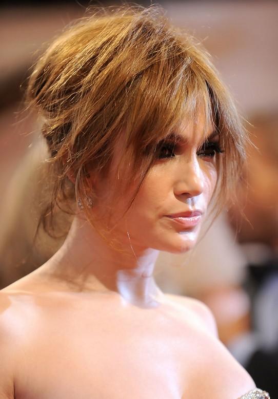 Jennifer Lopez Messy Updo