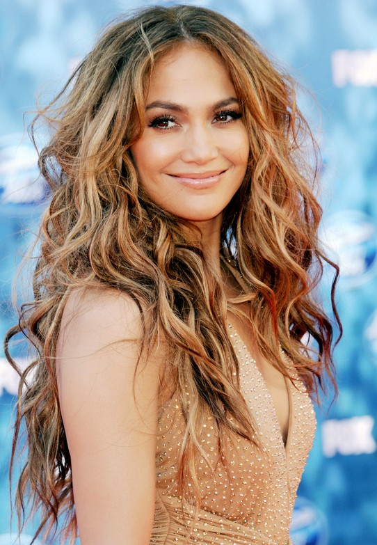 Jennifer Lopez Ombre Hair Color LONG HAIRSTYLES