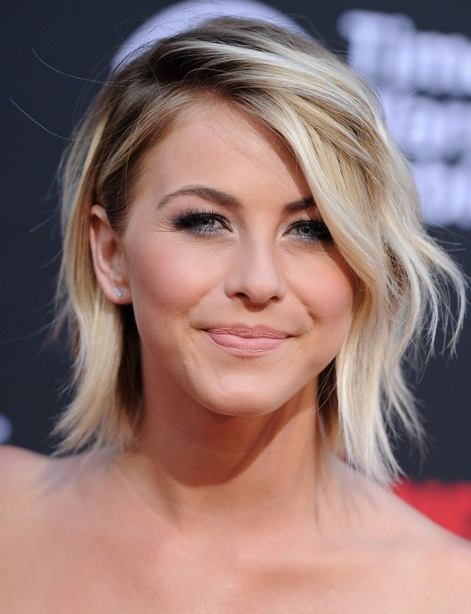 Julianne Hough Edgy Short Hairstyle