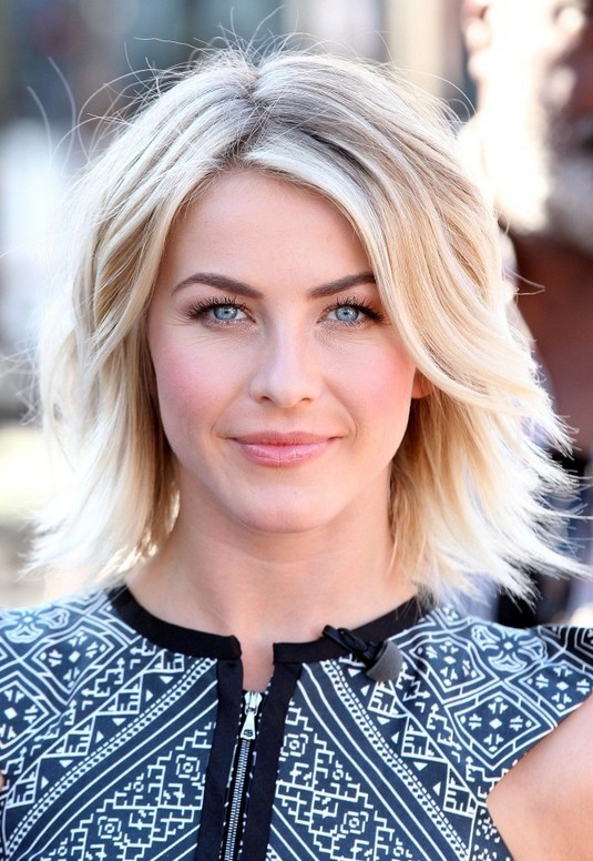 Julianne Hough Layered Razor Cut
