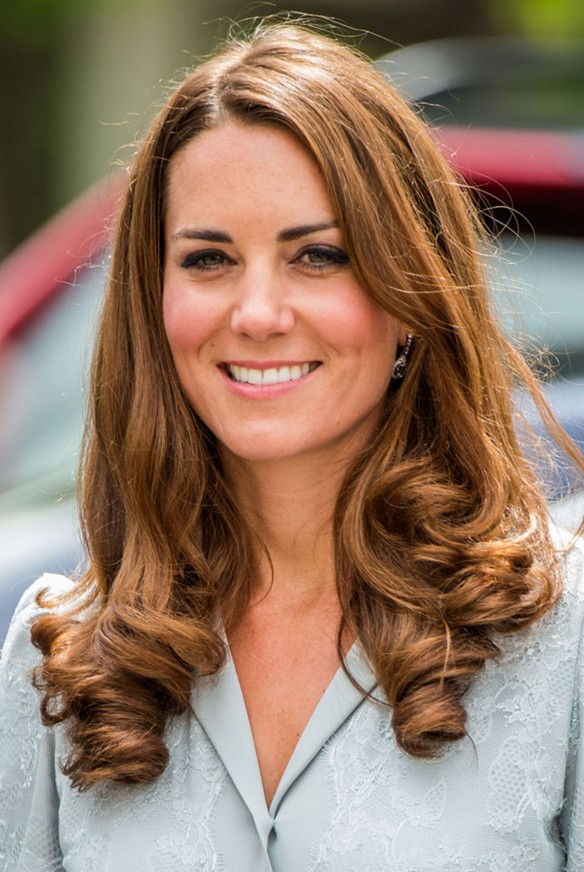 Kate Middleton Long Wavy Hairstyles