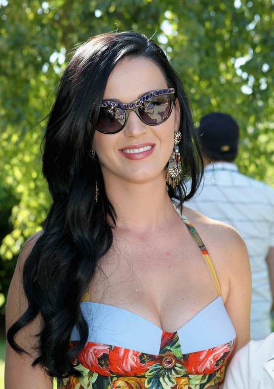 Katy Perry Long Hairstyle