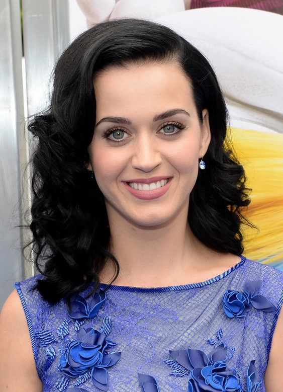 Katy Perry Medium Hairstyle