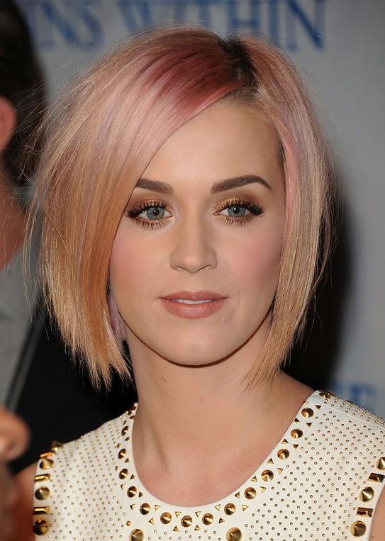 Enjoyable Katy Perry Hairstyles Celebrity Latest Hairstyles 2016 Short Hairstyles Gunalazisus