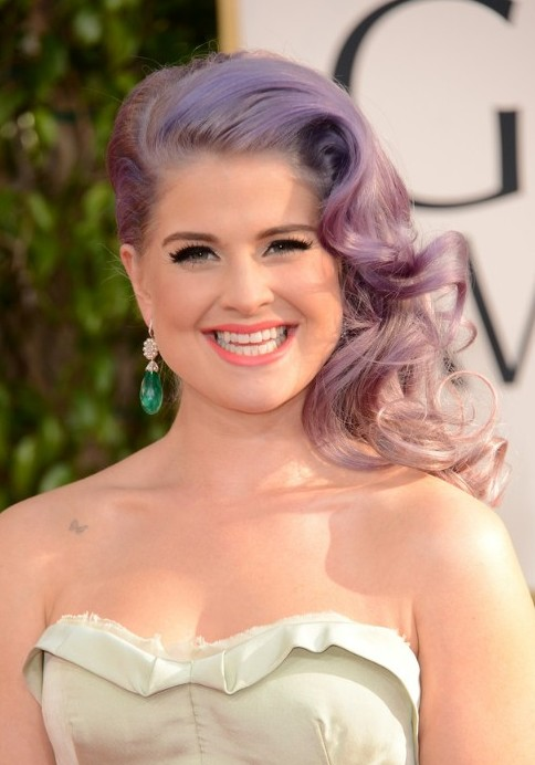 Kelly Osbourne Ombre Hairstyles