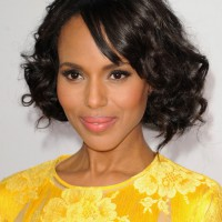 Kerry Washington Short Bob Hairstyle