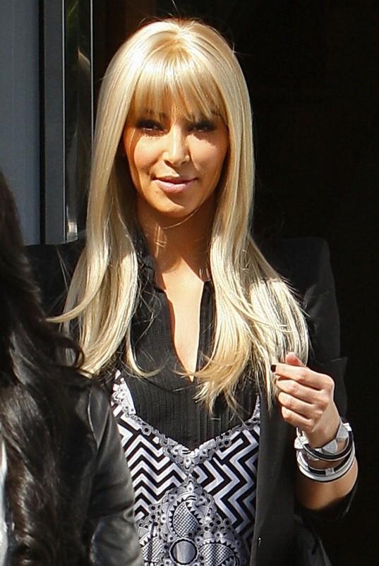 Kim Kardashian Blonde Hair Wigs