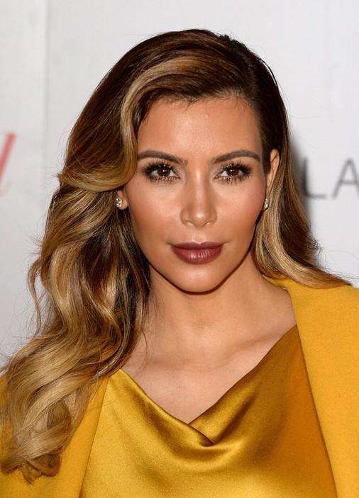 Kim Kardashian Hairstyles 2014