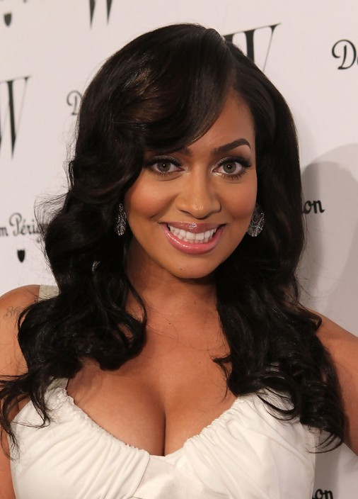 La La Anthony Hairstyle with Bangs