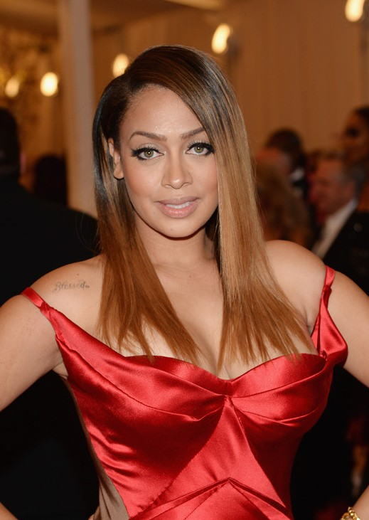 La La Anthony Long Straight Hairstyles