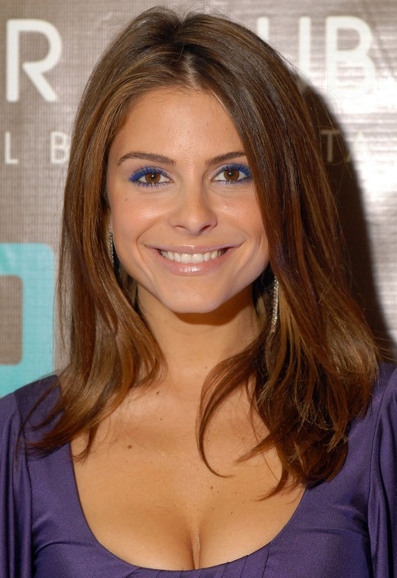 Maria Menounos Medium Straight Hairstyles