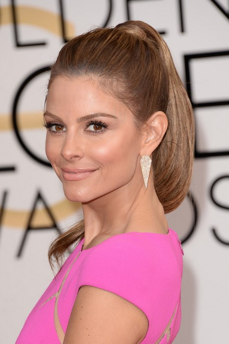 Maria Menounos Ponytail Hairstyles 2014