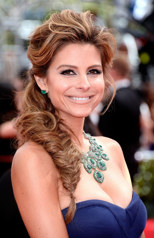 Maria Menounos Side Fishtail Braid