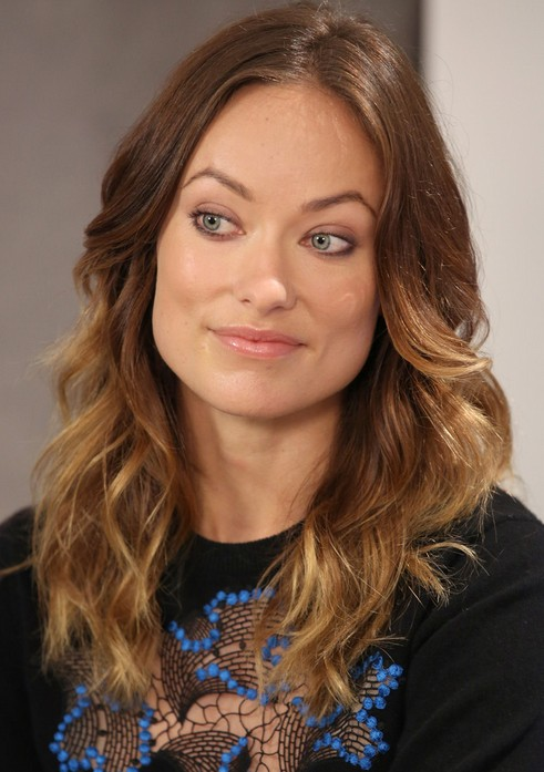 Olivia Wilde Ombre Hair 2013 olivia wilde hairstyles - celebrity ... Olivia Wilde