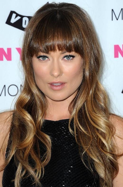 Olivia Wilde Long Wavy Hairstyles
