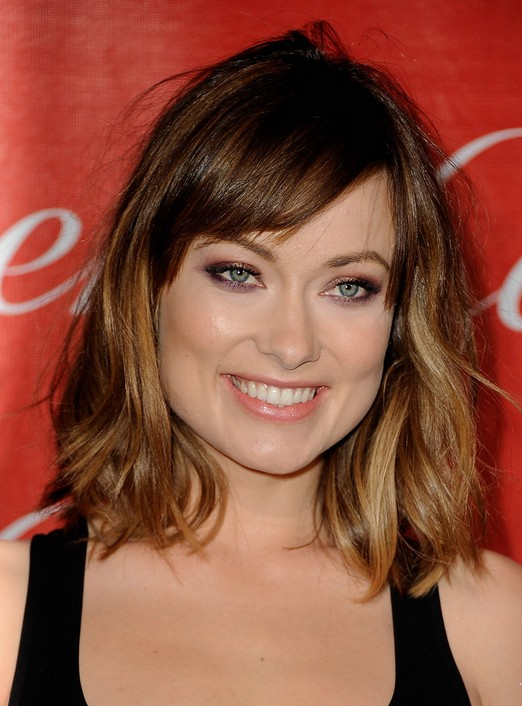 Olivia Wilde Ombre Short Hairstyles