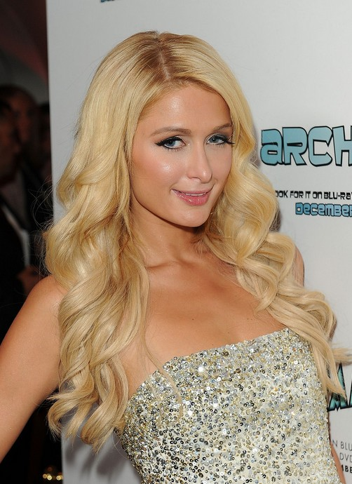 Paris Hilton Long Curly Hairstyles