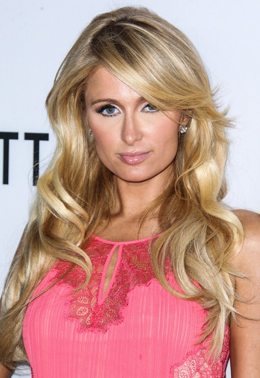 Paris Hilton Long Wavy Hairstyle for Women