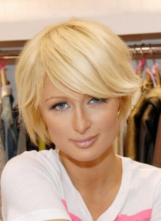 Paris Hilton Short Hairstyles