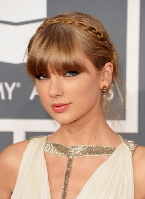 Taylor Swift Braided Updo