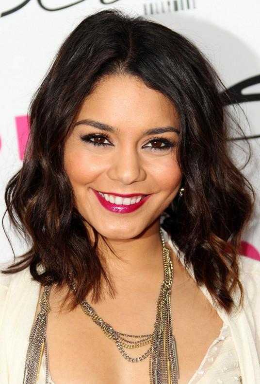 Vanessa Hudgens Medium Hairstyle