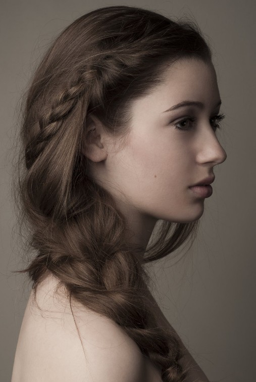 Braided Wedding Hairstyles Side
