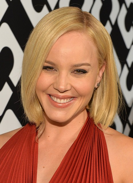 Abbie Cornish Short Bob Hairstyle - Short Blonde Bob Cut