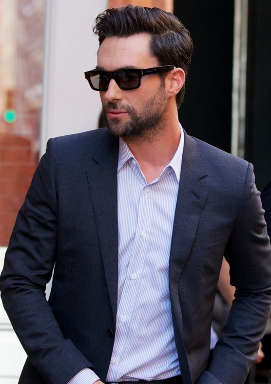 Adam Levine Hairstyle for Business Man