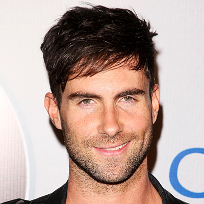 Adam Levine Layered Hairstyle