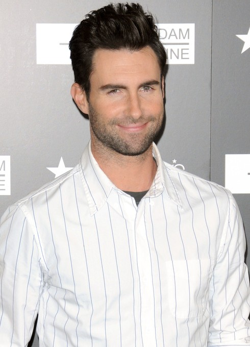 Adam Levine quiff Hairstyle for Men
