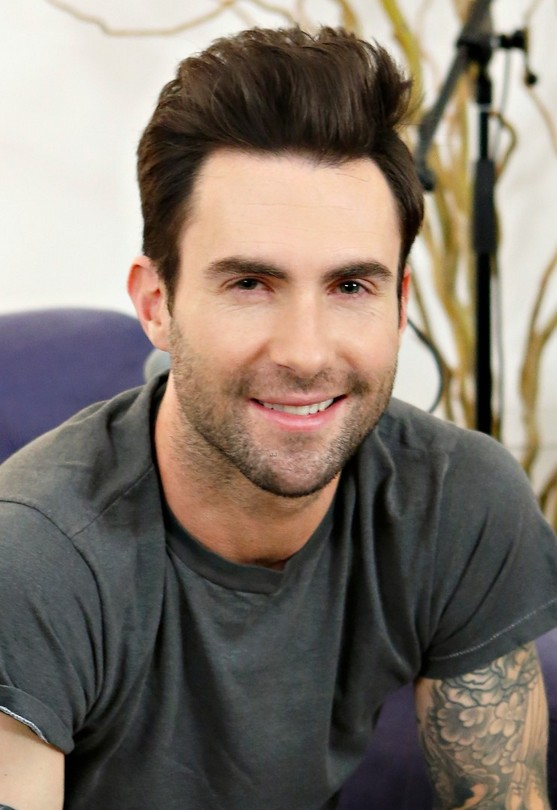 Adam Levine Short Haircut For Men 2014