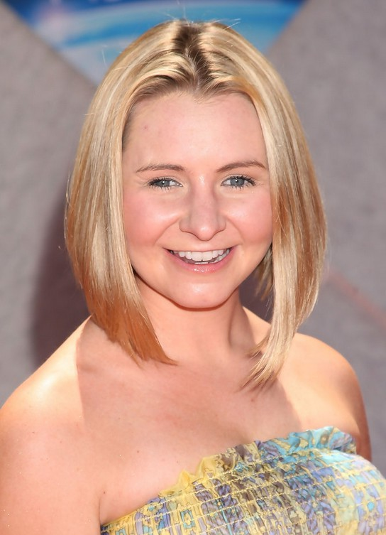 Beverley Mitchell Stacked Bob Hairstyles Styles Weekly