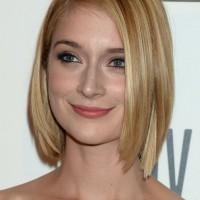 Caitlin Fitzgerald A Line Bob Haircut