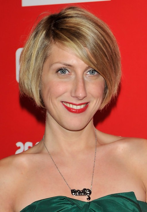 Cecilia Freire Short Stacked Bob Haircut