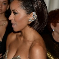 Celebrity Kat Graham Short Bob Haircut