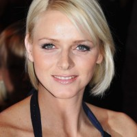 Charlene Wittstock Short Bob Haircut for Thin Hair