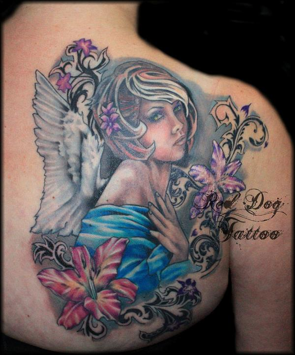 Charlies Angel Tattoo